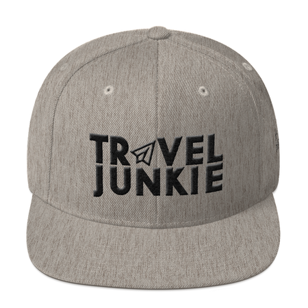Snapback Hat - Travel Junkie