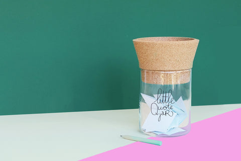Little Quote Jar