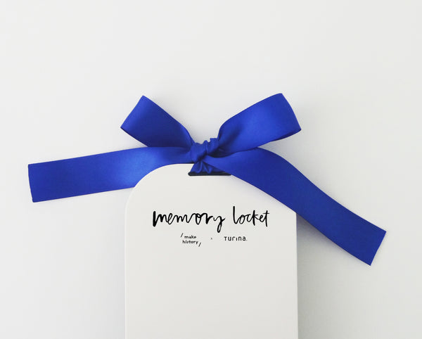 Memory Locket * BLUE HUES