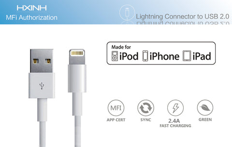 iPad and iPhone Lightning Cable 3 metres