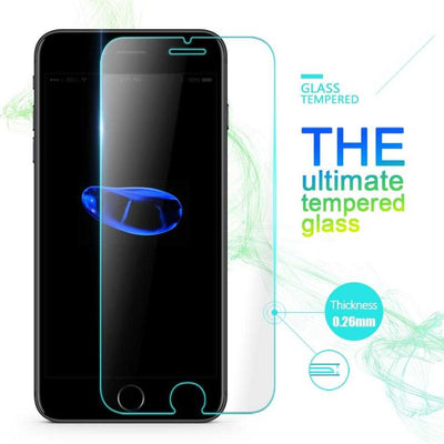 Glass Screen Protector for iPhone X, 8 Plus, 8, 7