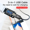 3 in 1 charger cable for iPhone