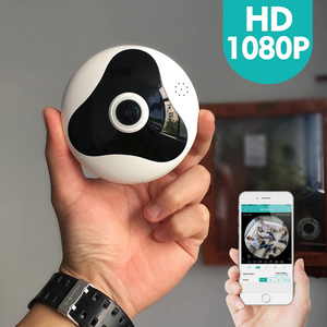 2018 New 360 Degree Fisheye Motion Detection P2P Camera