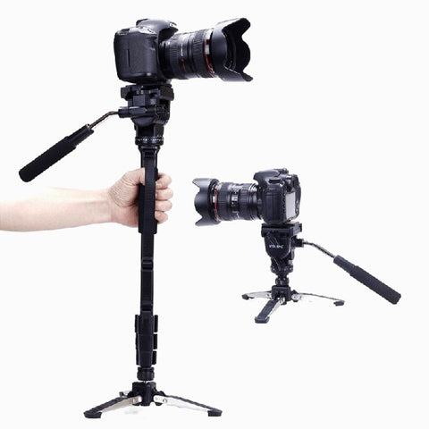 DSLR Monopod + Fluid Pan Head
