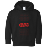 unbasic College Toddler Fleece Hoodie