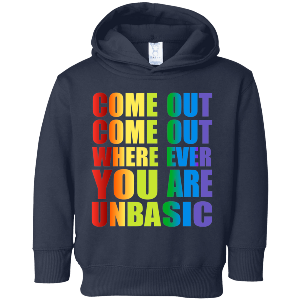 Come Out Come Out Toddler Fleece Hoodie