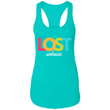 LOST unBASIC Ladies Racerback Tank