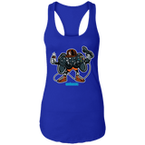 Let's Play 2 Ladies Racerback Tank