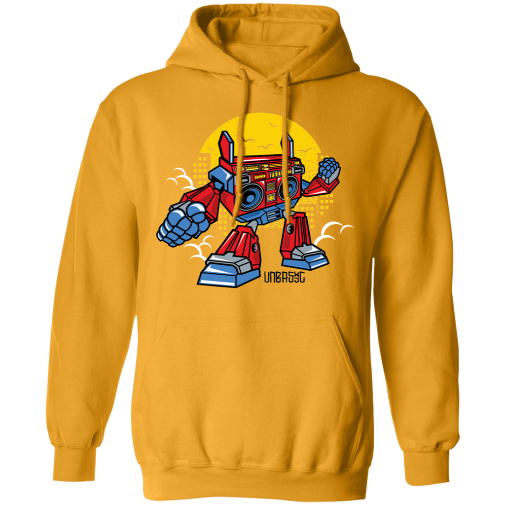 Boombox Robot Pullover Hoodie