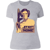 STAY HOME LAILA Boyfriend T-Shirt