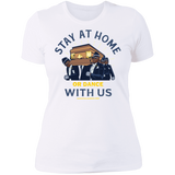 STAY AT HOME OR DANCE WITH US Boyfriend T-Shirt