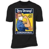STAY STRONG Short Sleeve T-Shirt