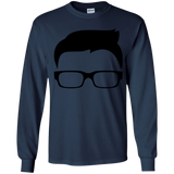 Glasses Youth LS T-Shirt