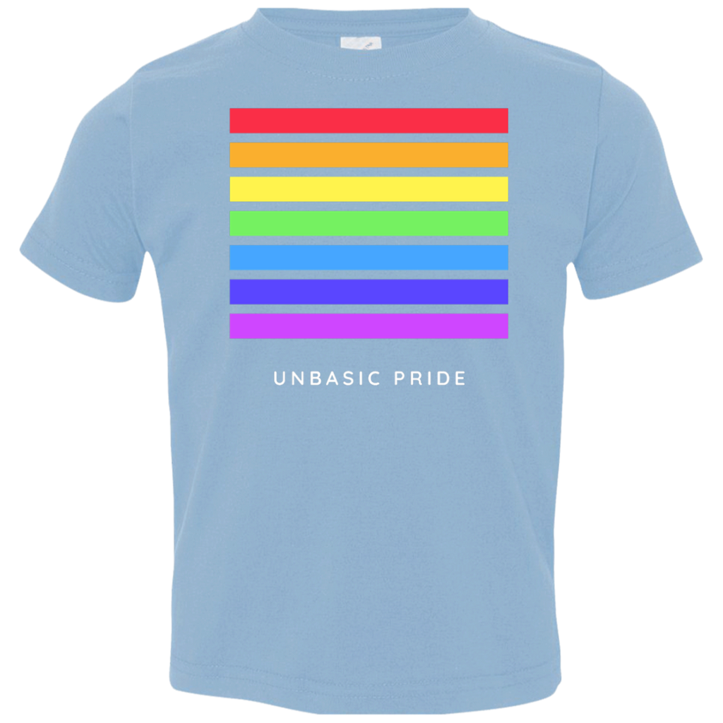 unBASIC Pride Toddler Jersey T-Shirt