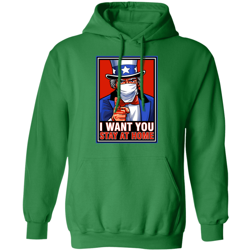 STAY AT HOME Pullover Hoodie