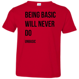 Being Basic Toddler Jersey T-Shirt