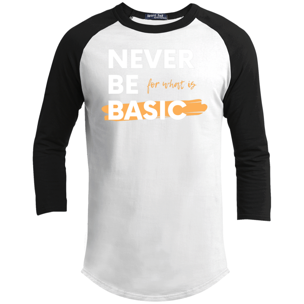 NEVER BE BASIC Youth Sporty T-Shirt