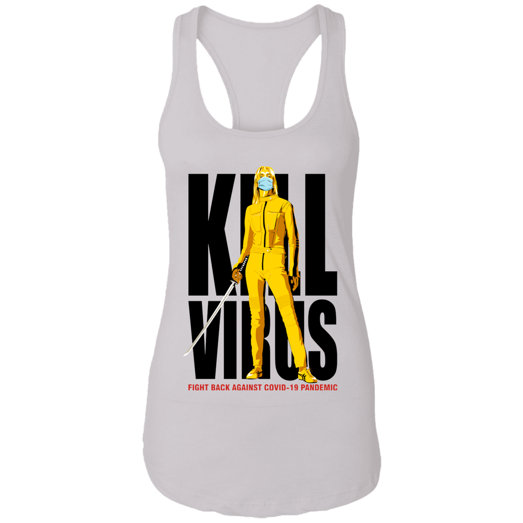KILL VIRUS Ladies Racerback Tank
