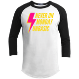 Never on a Monday Youth Sporty T-Shirt