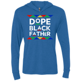 Dope Black Father Triblend LS Hooded T-Shirt