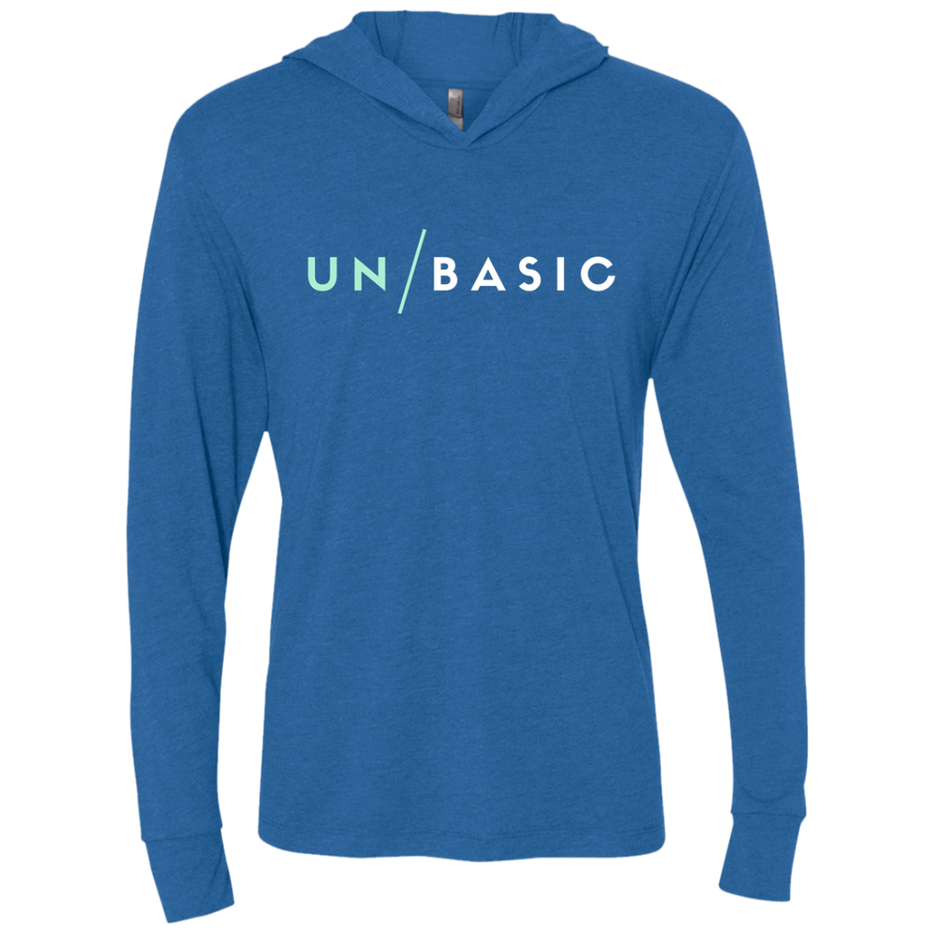 UN/BASIC Triblend LS Hooded T-Shirt