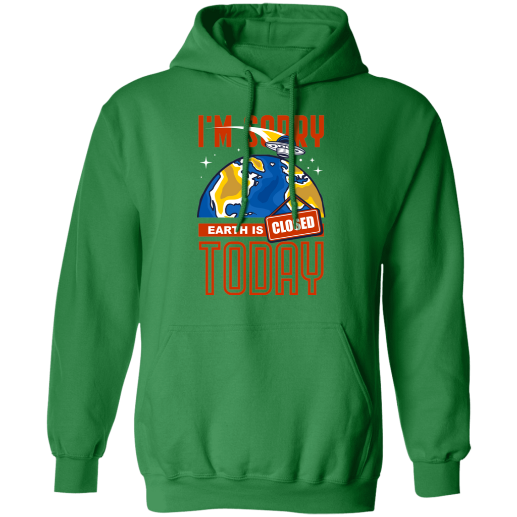 EARTH CLOSED Pullover Hoodie