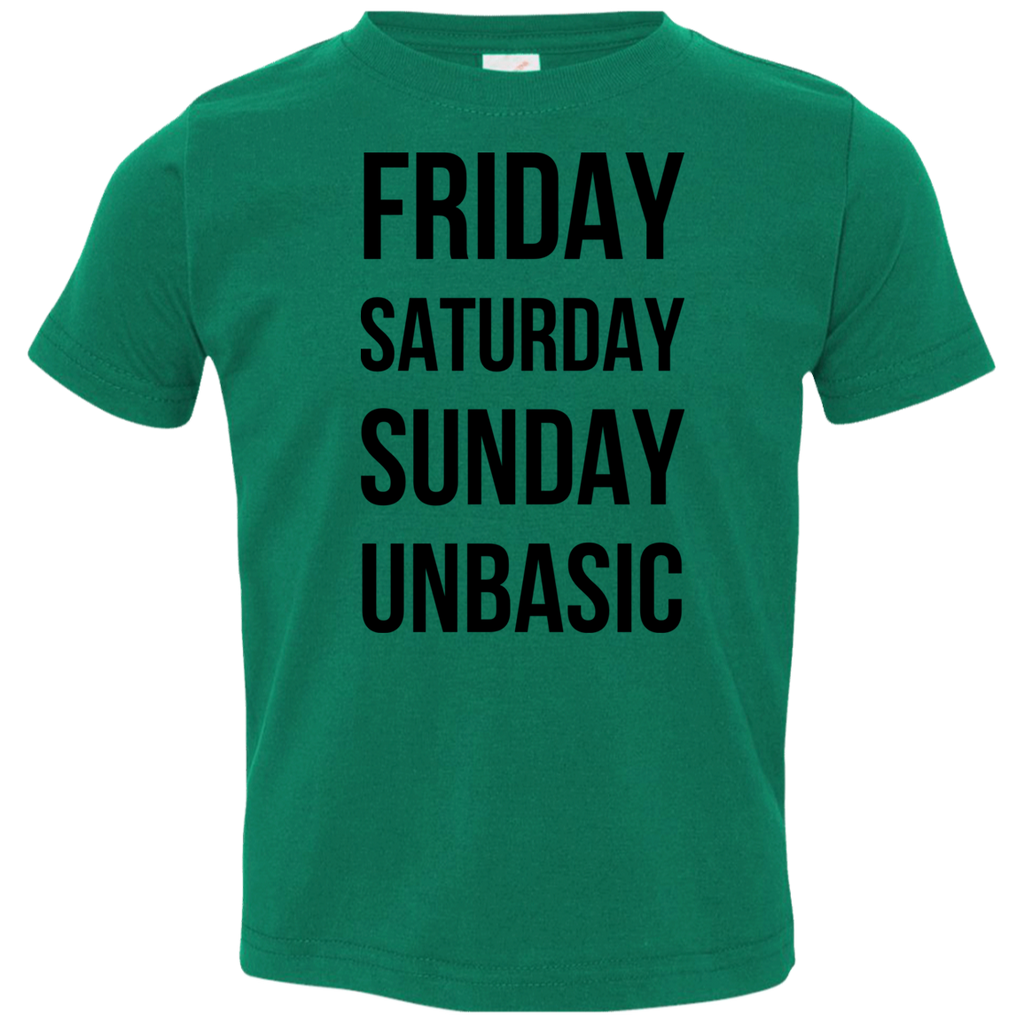 Three Day Weekend Toddler Jersey T-Shirt