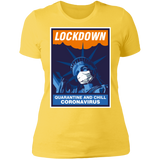 LIBERTY LOCKDOWN Boyfriend T-Shirt