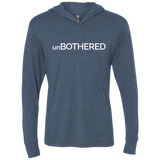 unBOTHERED Triblend LS Hooded T-Shirt