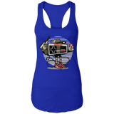Let's Play copy Ladies Racerback Tank