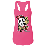 Peace Ladies Racerback Tank