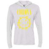 CORONA Triblend LS Hooded T-Shirt
