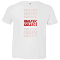 unbasic College Toddler Jersey T-Shirt