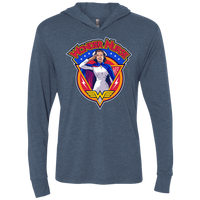 WONDER NURSE Triblend LS Hooded T-Shirt