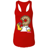 I Like Donut Ladies Racerback Tank