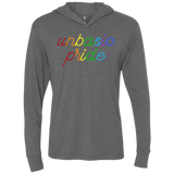 Unbasic Pride Triblend LS Hooded T-Shirt