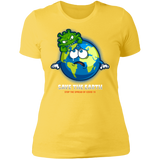 SAVE THE EARTH Boyfriend T-Shirt