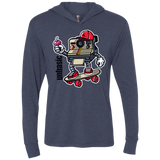 Brick Gamers Triblend LS Hooded T-Shirt