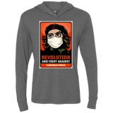REVOLUTION AND FIGHT Triblend LS Hooded T-Shirt