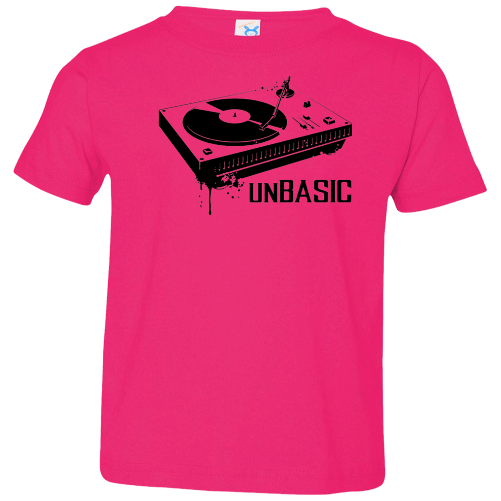 unBASIC DJ Toddler Jersey T-Shirt