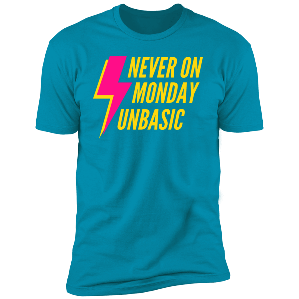 Never on a Monday Short Sleeve T-Shirt