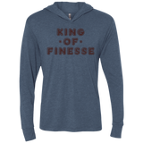 King of Finesse Triblend LS Hooded T-Shirt