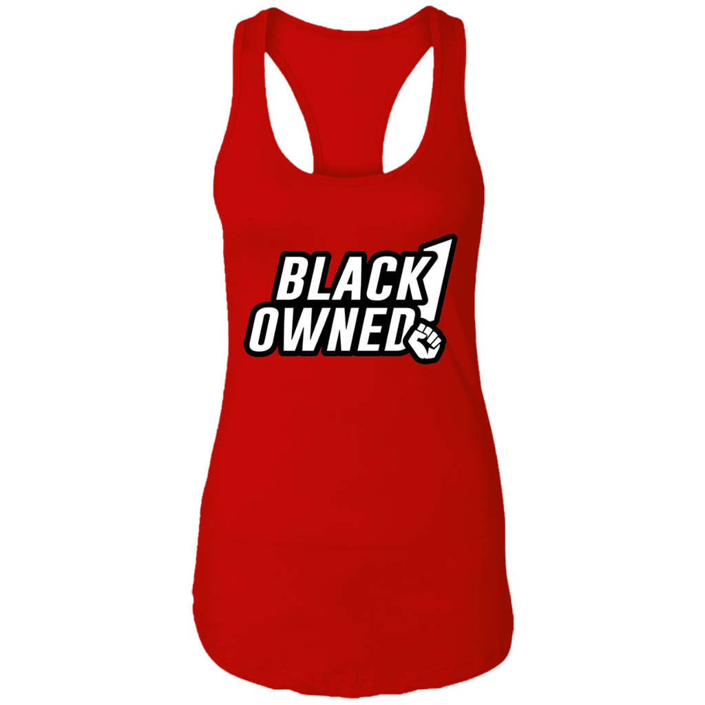 Black Owned Ladies Racerback Tank