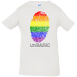 unBASIC Pride Print Infant Jersey T-Shirt