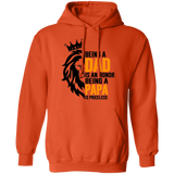 Being A Dad Is An Honor Being A Papa Is Priceless Pullover Hoodie
