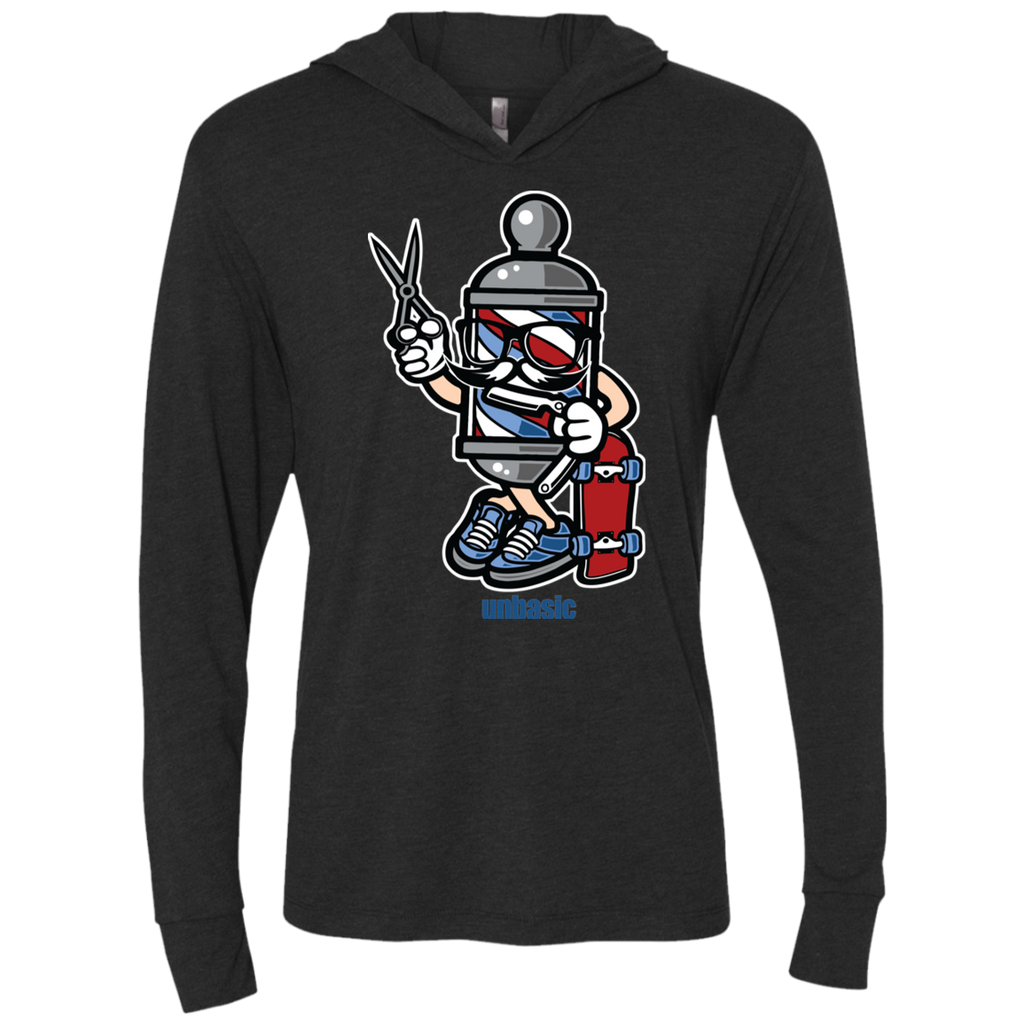 Barber Skater Triblend LS Hooded T-Shirt