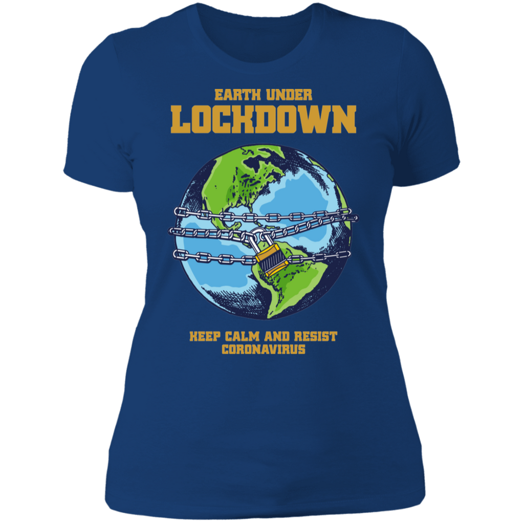 LOCKDOWN Boyfriend T-Shirt
