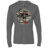 Let's Play copy Triblend LS Hooded T-Shirt