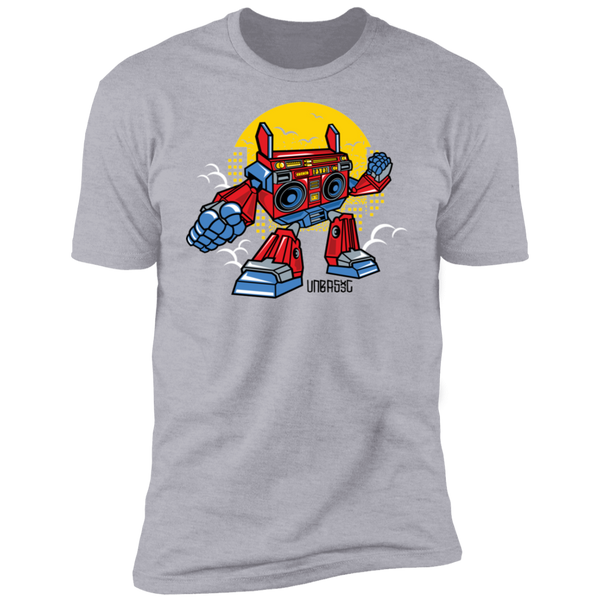 Boombox Robot Short Sleeve T-Shirt