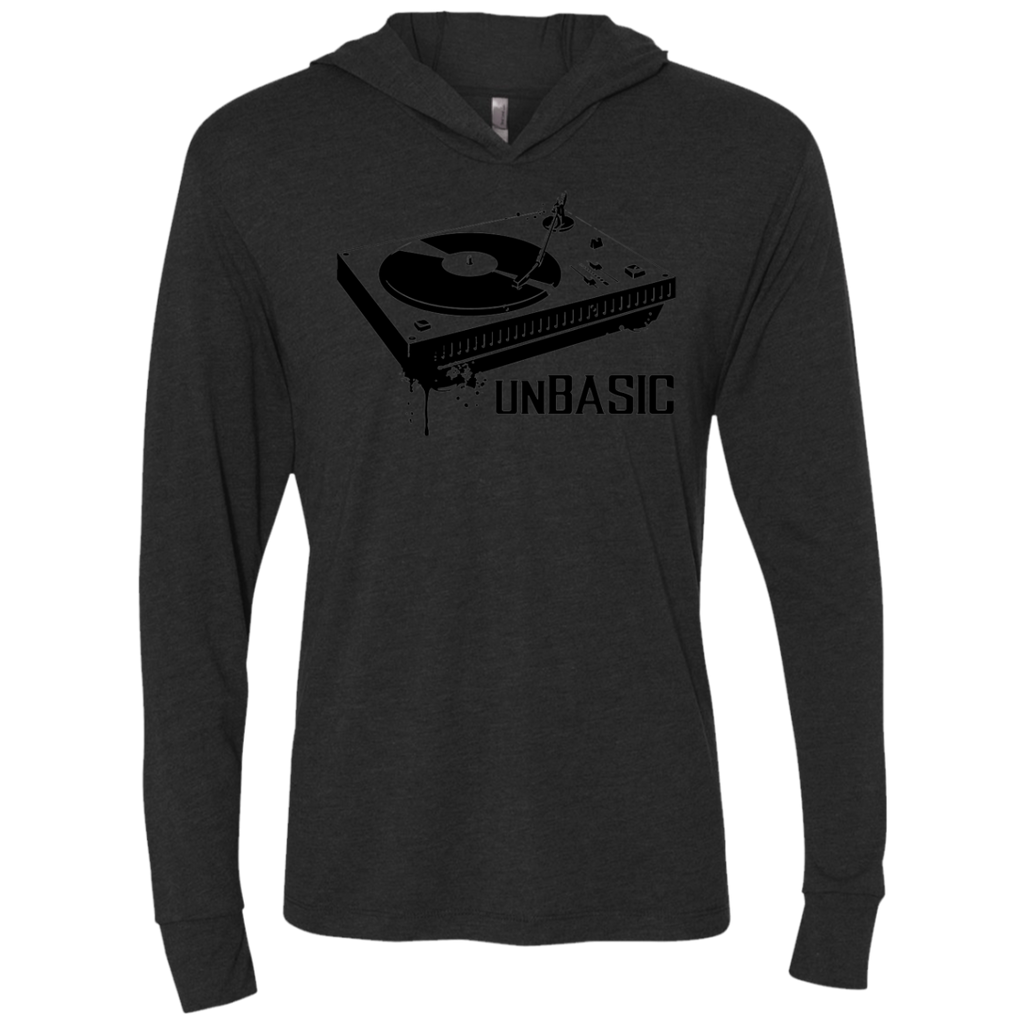 unBASIC DJ Triblend LS Hooded T-Shirt